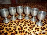 Set paharele tuica metalice