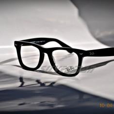 Rame Ochelari Ray Ban RB5121 2000 - Rama ochelari Ray Ban, Unisex, Negru, Dreptunghiulare, Plastic, Rama intreaga