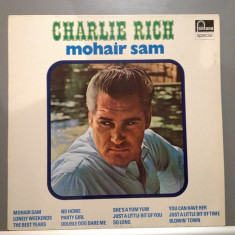 Charlie Rich - Mohair Sam (1966 / Fontana Rec/ Holland) - Vinil/Vinyl/Impecabil - Muzica Country emi records