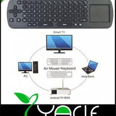 + Measy RC 12 telecomanda si tastatura wireless +, Mini tastatura, Fara fir, USB