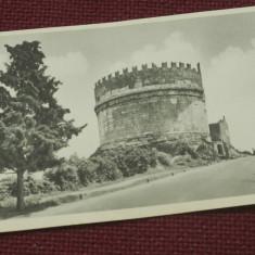 Carte postala - Roma Mausoleul Cecilia Metella !!! - 1935 necirculata, Printata