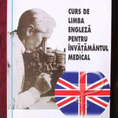 CURS DE LIMBA ENGLEZA PENTRU INVATAMANTUL MEDICAL, M. Mincu, 1998. Absolut noua - Curs Limba Engleza