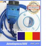 Interfata diagnoza auto K-line , tester Fiat - ECU SCAN lb. RO Linea Albea Punto