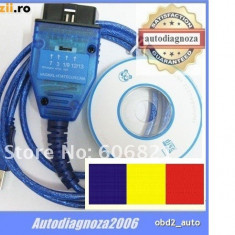 Interfata diagnoza auto K-line, tester Fiat - ECU SCAN lb. RO Linea Albea Punto