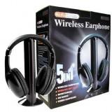 CASTI WIRELESS 5 IN 1 CU MICROFON SI RADIO FM, Casti On Ear
