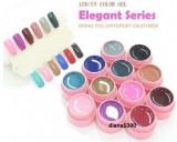 Set 12 Geluri UV Gel Color Canni - Seria Elegant
