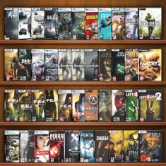 COLECŢIE - 65 Jocuri FPS pentru PC - mapă cu 100 DVD - Jocuri PC Electronic Arts, Shooting, 18+, Single player