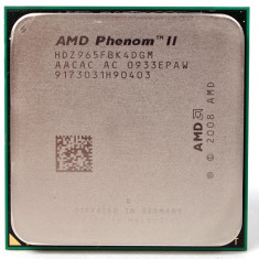 Procesor Quad Core Am3 AMD Phenom II X4 955 3.2Ghz 6MB L3 125W TRAY - Procesor PC AMD, Numar nuclee: 4, Peste 3.0 GHz
