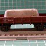 Platforma cu metal marca Roco scara HO(2061), H0 - 1:87, Vagoane
