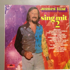 James Last - Sing with - Best Of - (1974/ Polydor/ RFG ) - Vinil/Vinyl/Impecabil, universal records