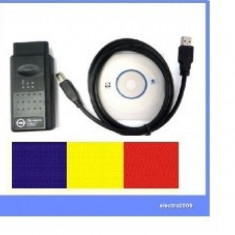 Interfata diagnoza OP.COM tester auto OP-COM Limba ROMANA Maghiara Engleza - Interfata diagnoza auto