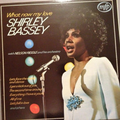 Shirley Bassey - What Now My Love(1962 /Emi Rec/ RFG)- Vinil/Vinyl/Impecabil - Muzica R&B emi records
