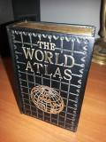 """Bricheta veche,englezeasca ,in forma de atlas """"World atlas"""""""