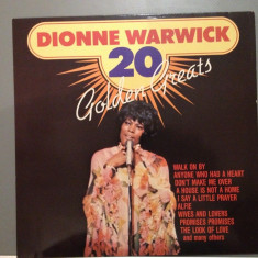 Dionne Warwick - 20 Golden Greats (1973 / Emi Rec/ UK ) - VINIL/VINYL/IMPECABIL - Muzica R&B emi records