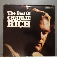 Charlie Rich - The Best Of (1962 / Bellaphone Rec/ RFG) - Vinil/Vinyl/Impecabil - Muzica Country Columbia