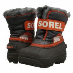 SOREL Kids Snow Commander™ (copii) | 100% originali, import SUA, 10 zile lucratoare - z12809 - Cizme copii Sorel, Baieti, Cauciuc