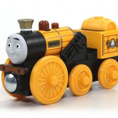 Locomotiva Stephen, colectia Thomas si prietenii sai - Trenulet Fisher Price, 2-4 ani, Lemn, Unisex