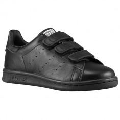 Adidas Originals Stan Smith Preschool | 100% originali, import SUA, 10 zile lucratoare - e12709 - Adidasi copii, Baieti, Negru