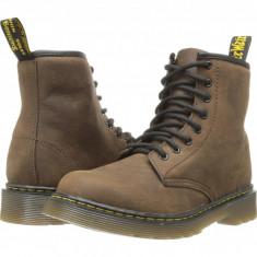 Dr. Martens Kid's Collection Delaney Lace Boot (copii) | 100% originali, import SUA, 10 zile lucratoare - z12809 - Ghete copii Dr Martens, Baieti, Piele naturala, Maro
