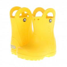 Crocs Kids Handle It Rain Boot (copii) | 100% originali, import SUA, 10 zile lucratoare - z12809 - Cizme copii Crocs, Cauciuc, Galben