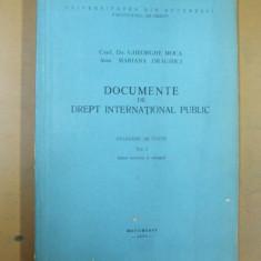 Documente de drept international public culegere de texte volumul I 1975