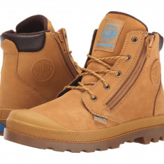 Palladium Kids Pampa Hi Cuff Waterproof (Little Kid) | 100% originali, import SUA, 10 zile lucratoare - z12809 - Ghete copii Palladium, Baieti, Camel