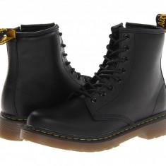 Dr. Martens Kid's Collection Delaney Lace Boot (copii) | 100% originali, import SUA, 10 zile lucratoare - z12809 - Ghete copii Dr Martens, Baieti, Piele naturala, Negru