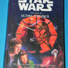 STAR WARS VOL 5 - ULTIMA PORUNCA - TIMOTHY ZAHN (05029 - Carte SF