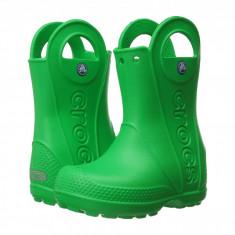 Crocs Kids Handle It Rain Boot (copii) | 100% originali, import SUA, 10 zile lucratoare - z12809 - Cizme copii Crocs, Baieti, Cauciuc, Verde