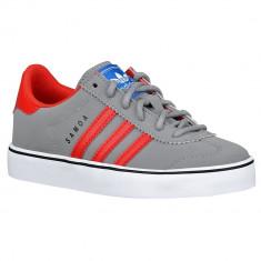 Adidas Originals Samoa Vulc Preschool | 100% originali, import SUA, 10 zile lucratoare - e12709 - Adidasi copii, Baieti, Gri