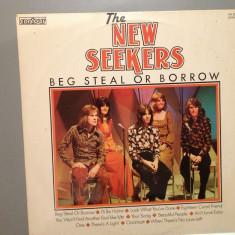 The New Seekers - Beg Steal or Borrow (1971 / EMI REC/ RFG ) - Vinil/Rock/Vinyl - Muzica Rock emi records