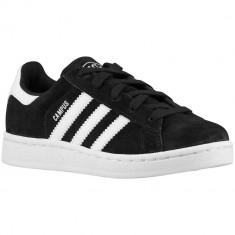 Adidas Originals Campus 2 Grade School | 100% originali, import SUA, 10 zile lucratoare - e12709 - Adidasi copii, Baieti, Negru