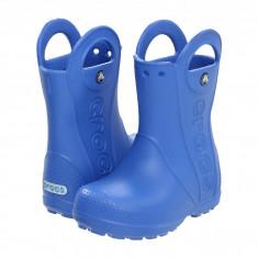 Crocs Kids Handle It Rain Boot (copii) | 100% originali, import SUA, 10 zile lucratoare - z12809 - Cizme copii Crocs, Baieti, Cauciuc, Albastru