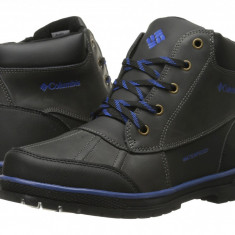Columbia Kids Wrangle Peak™ Waterproof Boot (copii) | 100% originali, import SUA, 10 zile lucratoare - z12809 - Ghete copii Columbia, Baieti, Negru