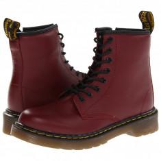 Dr. Martens Kid's Collection Delaney Lace Boot (copii) | 100% originali, import SUA, 10 zile lucratoare - z12809 - Ghete copii Dr Martens, Baieti, Piele naturala