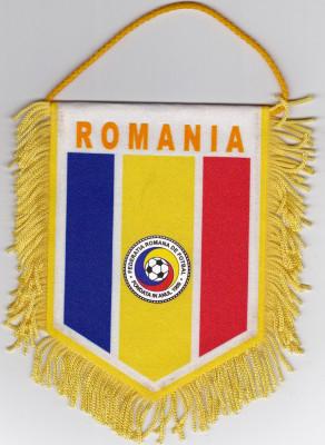 Fanion Federatia de Fotbal din ROMANIA (FRF) foto