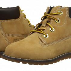 "Timberland Kids Pokey Pine 6"" Boot w/ Side Zip (copii) | 100% originali, import SUA, 10 zile lucratoare - z12809 - Ghete copii Timberland, Baieti, Bej"