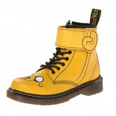 Dr. Martens Kid's Collection Adventure Time Jake D (Little Kid) | 100% originali, import SUA, 10 zile lucratoare - z12809 - Ghete copii Dr Martens, Baieti, Piele naturala