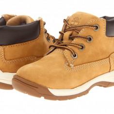 Timberland Kids Earthkeepers® Timber Tykes Lace Boot (copii) | 100% originali, import SUA, 10 zile lucratoare - z12809 - Ghete copii Timberland, Baieti, Piele naturala, Camel