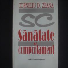 CORNELIU D. ZEANA - SANATATE SI COMPORTAMENT