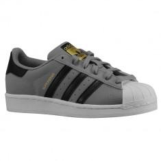 Adidas Originals Superstar Grade School   100% originali, import SUA, 10 zile lucratoare - e12709 - Adidasi copii, Baieti, Gri