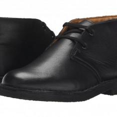 Clarks Kids Desert Boot (copii) | 100% originali, import SUA, 10 zile lucratoare - z12809 - Ghete copii Clarks, Baieti, Piele naturala, Negru