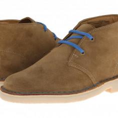 Clarks Kids Desert Boot (copii) | 100% originali, import SUA, 10 zile lucratoare - z12809 - Ghete copii Clarks, Baieti, Piele naturala, Maro