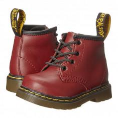 Dr. Martens Kid's Collection Brooklee B 4-Eye Lace Boot (copii) | 100% originali, import SUA, 10 zile lucratoare - z12809 - Ghete copii Dr Martens, Baieti, Piele naturala