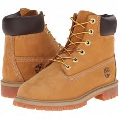 "Timberland Kids 6"" Premium Waterproof Boot Core (copii) | 100% originali, import SUA, 10 zile lucratoare - z12809 - Ghete copii Timberland, Baieti, Piele naturala, Camel"