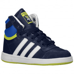 Adidas Originals Top Ten Toddler | 100% originali, import SUA, 10 zile lucratoare - e12709 - Ghete copii Adidas, Baieti, Piele naturala, Bleumarin