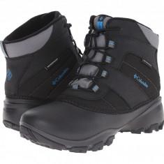 Columbia Kids Rope Tow™ III Waterproof Boot (copii) | 100% originali, import SUA, 10 zile lucratoare - z12809 - Ghete copii Columbia, Baieti, Negru