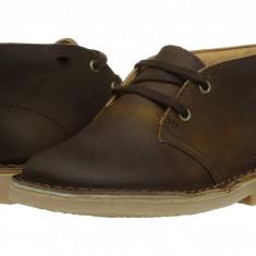 Clarks Kids Desert Boot (copii) | 100% originali, import SUA, 10 zile lucratoare - z12809 - Ghete copii Clarks, Baieti, Piele naturala