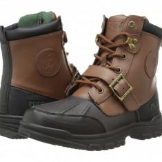 Polo Ralph Lauren Kids Colbey Boot FT14 (copii)   100% originali, import SUA, 10 zile lucratoare - z12809 - Ghete copii Polo By Ralph Lauren, Baieti, Piele naturala, Maro