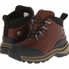 Timberland Kids Regular Kid Hiking Core (copii) | 100% originali, import SUA, 10 zile lucratoare - z12809 - Ghete copii Timberland, Baieti, Piele naturala, Maro